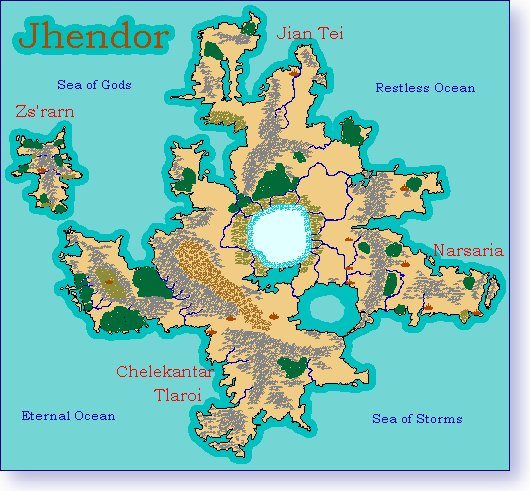 Map of Jhendor